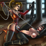 sabudenego-137539-Catwoman_VS_Harley_Quinn_COMMISSION