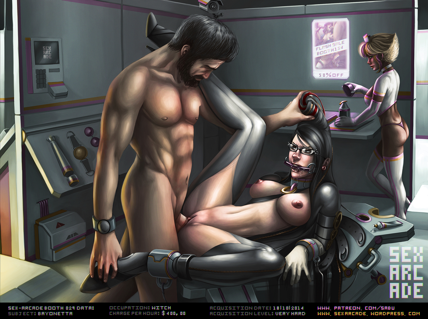 Sex-arcade Booth 029: Bayonetta