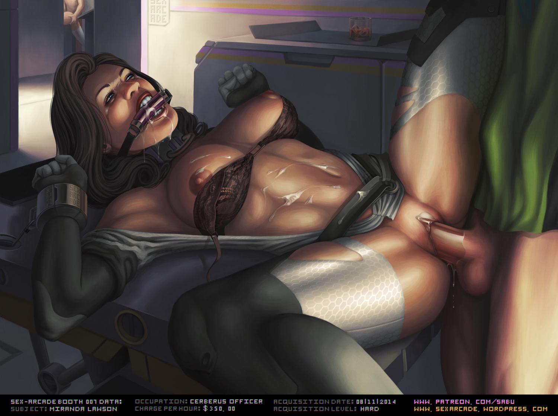 Sex-arcade Booth 07: Miranda Lawson