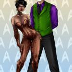 sabudenego-64860-Joker_Spock_and_Faun_Uhura_COMMISSION