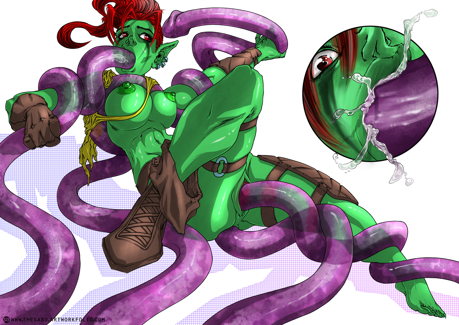 Goblin tentacle rape PART 2 (COMMISSION)