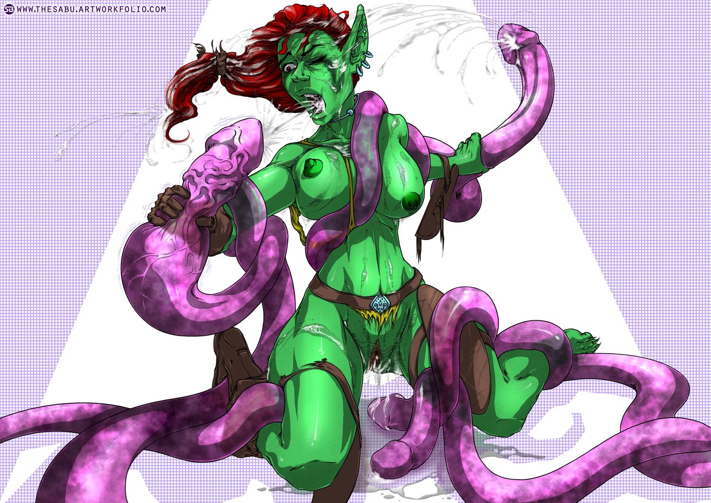 Goblin tentacle rape PART 3 (COMMISSION)