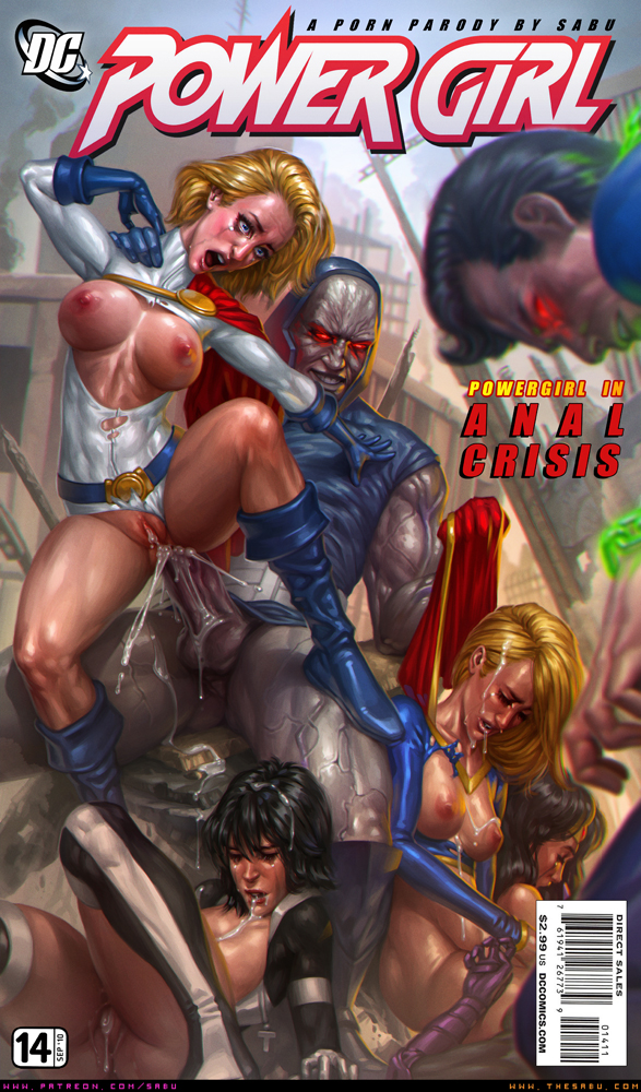 powergirl and supergirl anal sex