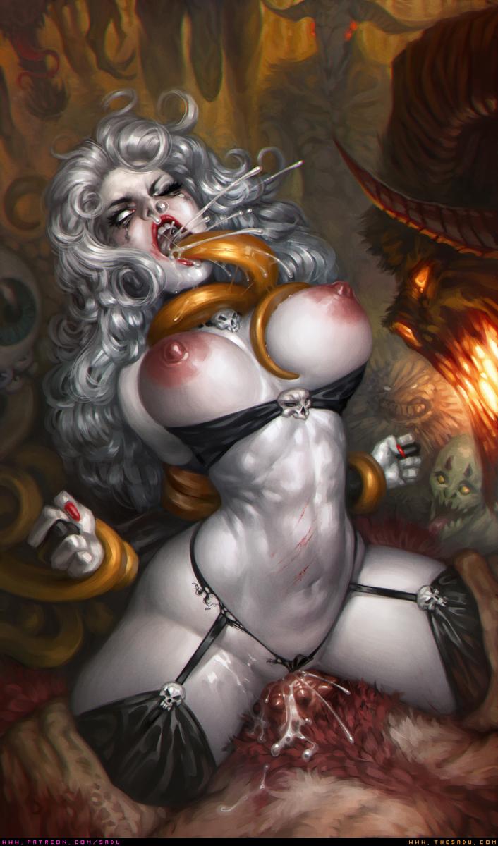 Misc Pic 13: Demon Gangbang
